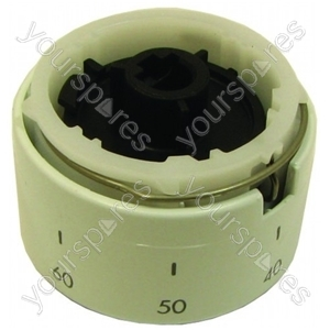 Ariston White Temperature Control Knob