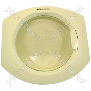 Indesit Washing Machine Door Assy White Pw