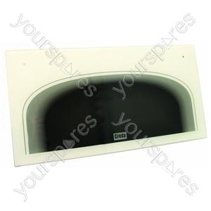 Door Glass Top Oven White