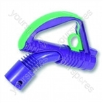 Wand Handle Assembly Purple/lime