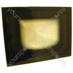 Main Door Glass Blk Rohs Compliant