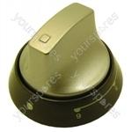 Indesit Aluminium/Graphite Cooker Control Knob