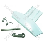 Hotpoint Door handle kit - white pw ariston Spares