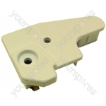 Hotpoint Top & Main Oven Door Right Hand Bottom End Cap and clip assembly - white Spares