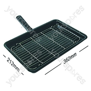 Grill Pan Complete Tricity 212mm X 362mm