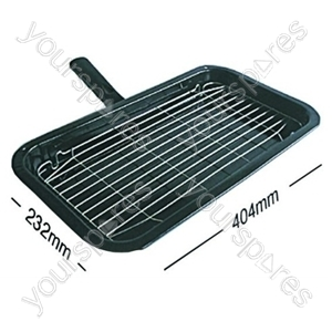 Grill Pan Complete Belling 232mm X 404mm