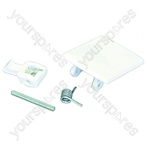 Door Handle Kit - Zanussi Whirlpool Wk