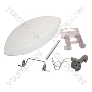 Servis Door Handle Kit White