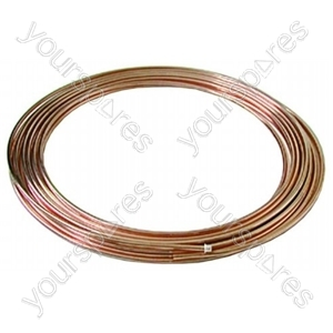Copper Tube Coil 1/4 15mtr