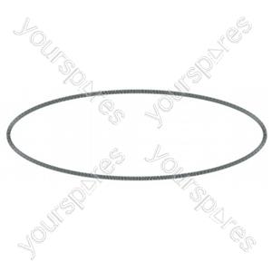 Black washing machine belt Pump Thin