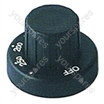 Control Knob Oven 0-250 Tricity