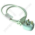 Kettle Lead Straight 10 Amp With 13 Amp Plug