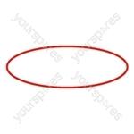 Belt Fan Red Hoover