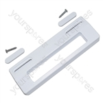 Universal White Fridge Door Handle 80mm to 150mm