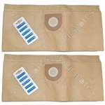 Vax 2001 Canister Vacuum Cleaner Paper Dust Bags X 10 + Air Fresheners