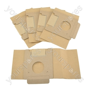 Moulinex Powerpack Vacuum Cleaner Paper Dust Bags