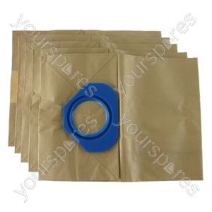 Nilfisk GS80 Vacuum Cleaner Paper Dust Bags