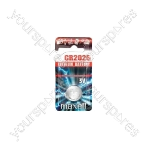 Maxell Cr2025 B1 3v Lithium