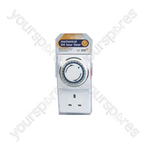 B1410 Basix 24 Hr Mechanical Plug-in-timer