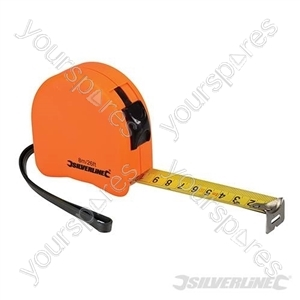Hi-Vis Contour Tape - 8m x 25mm