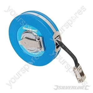 Fibreglass Surveyors Tape - 10m