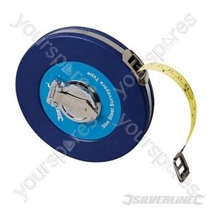 Steel Surveyors Tape - 30m