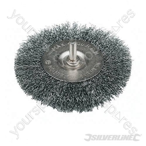 Rotary Steel Wire Wheel Brush - 75mm