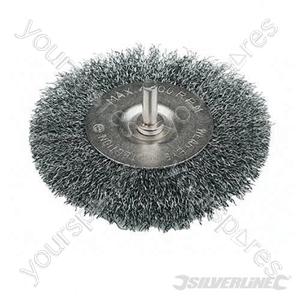 Rotary Steel Wire Wheel Brush - 75mm