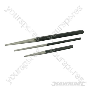 Long Taper Punch Set 3pce - 3pce