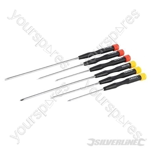 Extra-Long Precision Screwdriver Set 6pce - 6pce