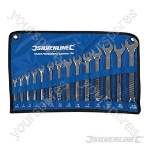 Combination Spanner Set 14pce - 8 - 24mm