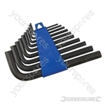 Hex Key Set 10pce - 2 - 10mm