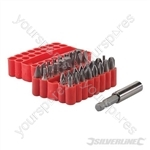 Screwdriver Bit Set 33pce - 25mm