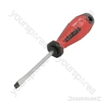 Soft-Grip Screwdriver Slotted Flared - 5 x 75mm