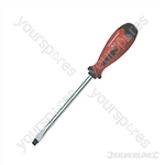 Soft-Grip Screwdriver Slotted Flared - 8 x 150mm